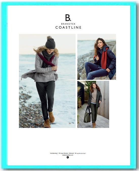 Collectie damesmode Brandtex coastline